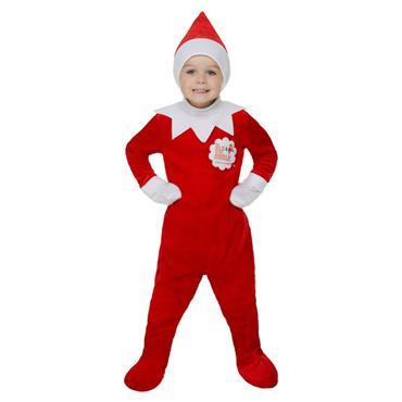 Elf on the Shelf Boy Elf Costume