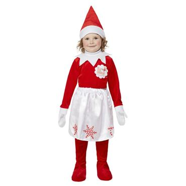 Elf on the Shelf Girl Elf Costume