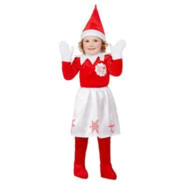 Elf on the Shelf Girl Elf Costume
