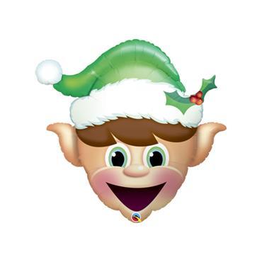 "35"" Christmas Elf Shape Foil Balloon"