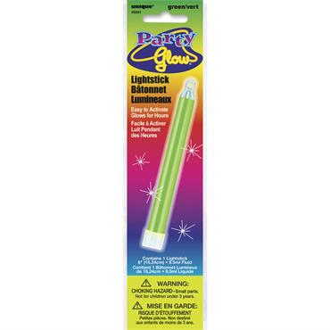 Green Glow Light Stick 6""