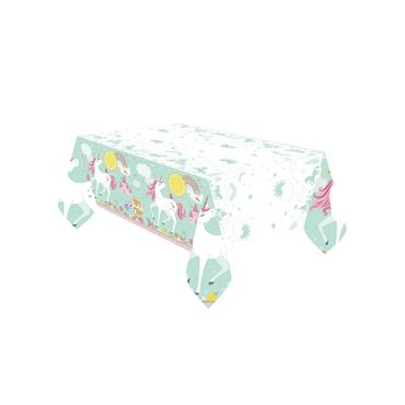 Unicorn Plastic Tablecloth (1.2m x 1.8m)