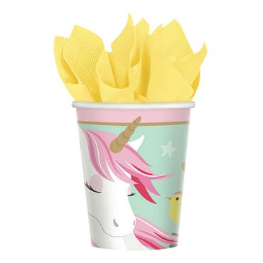 Unicorn Paper Cups (8pk)