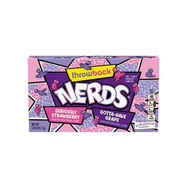 Nerds - Grape & Strawberry Sweets (141.7g) - Theatre Box