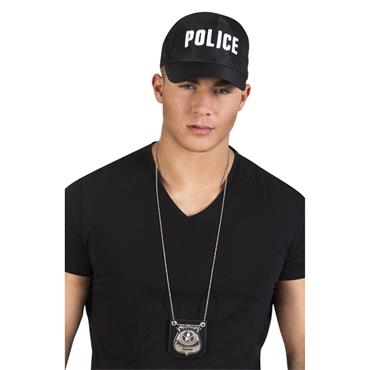 Necklace Badge - Police