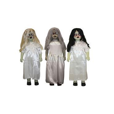Zombie Girl Standing Figure - 91cm