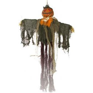 Hanging Scarecrow - Orange