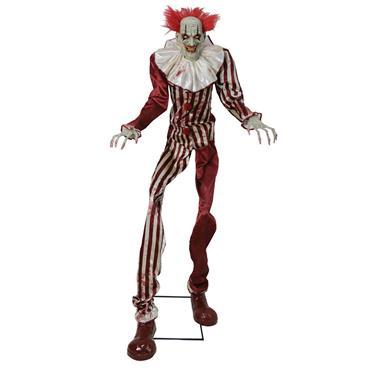 Undead Clown Animated Figure