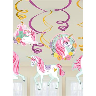 Unicorn Swirls (12pk)
