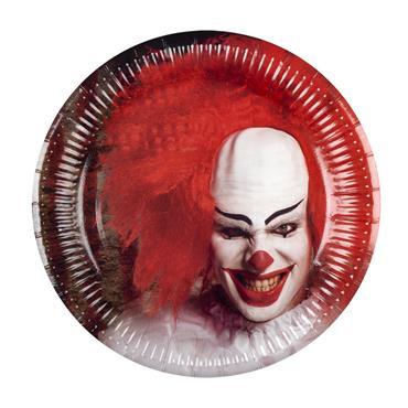 Horror Clown Plates