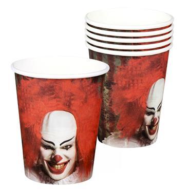 Horror Clown Cups