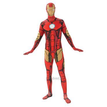 Marvel Iron Man 2nd Skin Costume