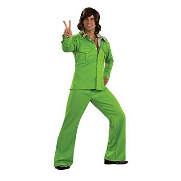 Leisure Suit - Lime Costume
