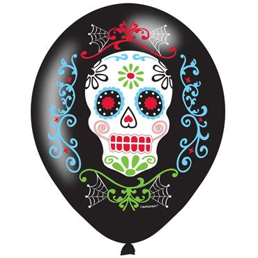 Day of the Dead Latex Balloon