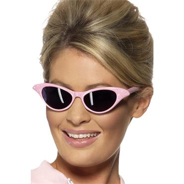 Sunglasses, Pink, With Diamante