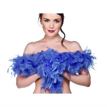 Budget Feather Boa - Blue