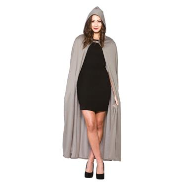 Grey Cape with Hood (Adult)