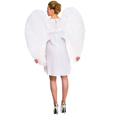 White  Deluxe Feather Wings
