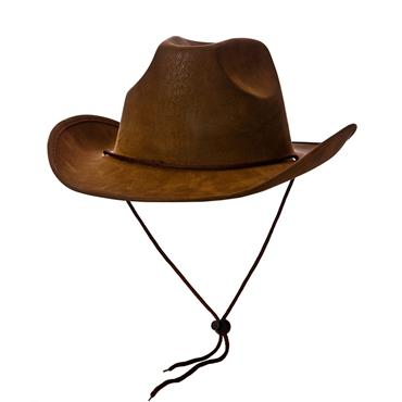 Deluxe Brown Suede Cowboy
