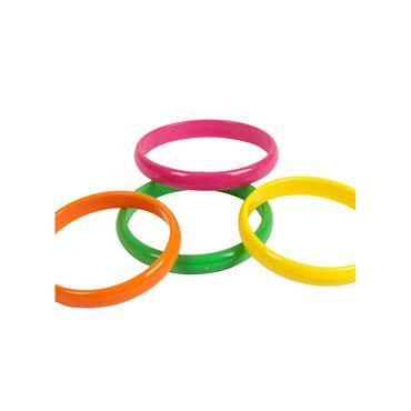 80's Neon Bracelets (Pack of 4)