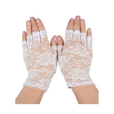 Ladies  Short Lace Gloves