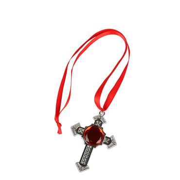 Deluxe Vampire Cross Medalion