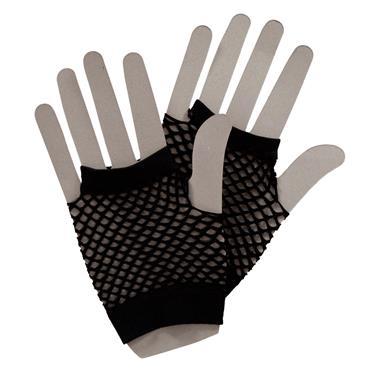80's Net Gloves - Black