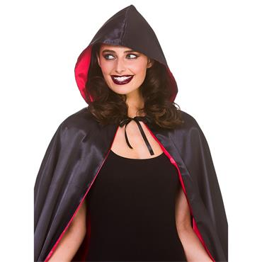 Deluxe Widows Hooded Cape