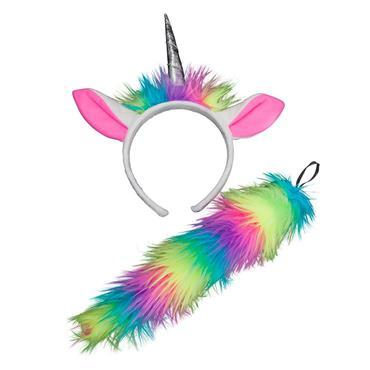 Ears & Tails - Rainbow Unicorn