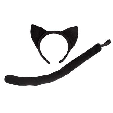 Ears and Tail - Black Cat