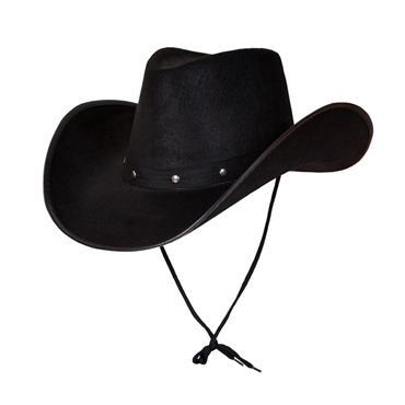Texan Black Cowboy Hat