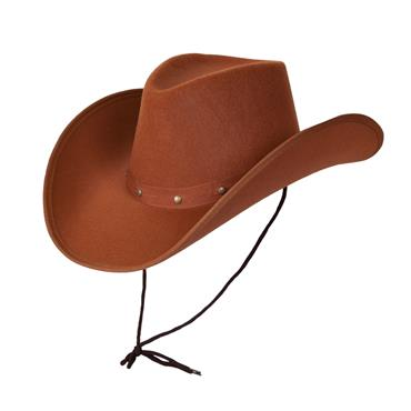 Texan Brown Cowboy Hat