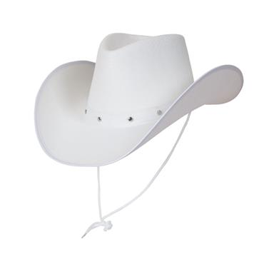 Texan White Cowboy Hat