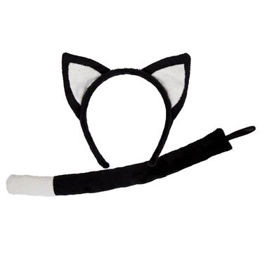 Black Cat - Ears & Tails