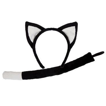 Black Cat - Ears & Tails