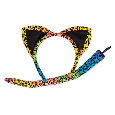 Neon Leopard - Ears & Tails
