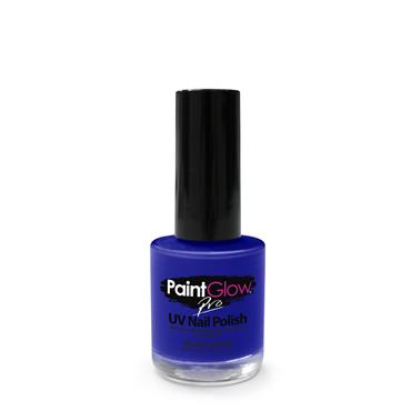Neon UV Nail Polish - Blue