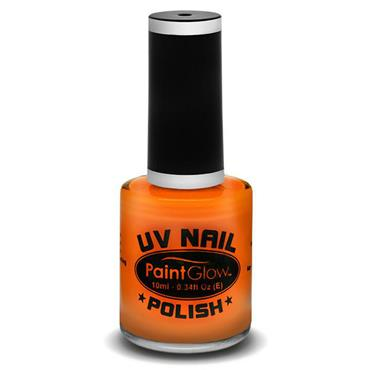 Neon UV Nail Polish - Orange