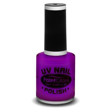 Neon UV Nail Polish - Purple