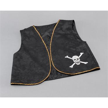 Pirate Waistcoat - black distress