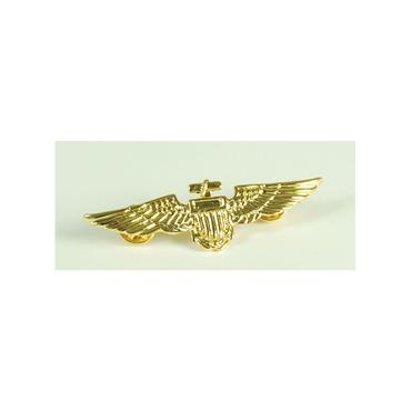 Aviator Pin Metal Gold