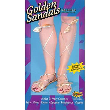 Egyptian Goddess Gold Sandals
