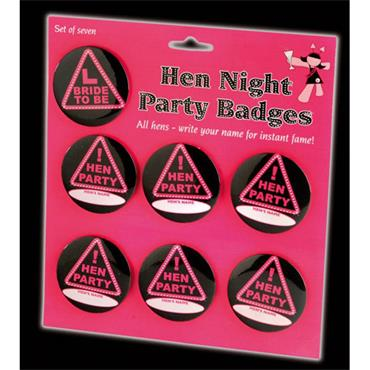 Hen Badges