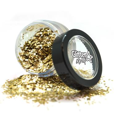 Loose Glitter Pot - Bio Gold
