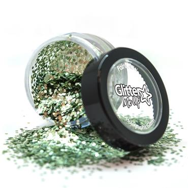 Loose Glitter Pot - Bio Green