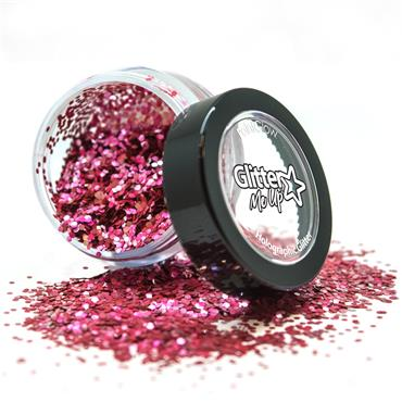 Loose Glitter Pot - Bio Red