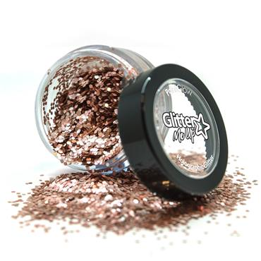 Loose Glitter Pot - Rose Gold