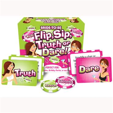 Flip & Sip Truth or Dare Game