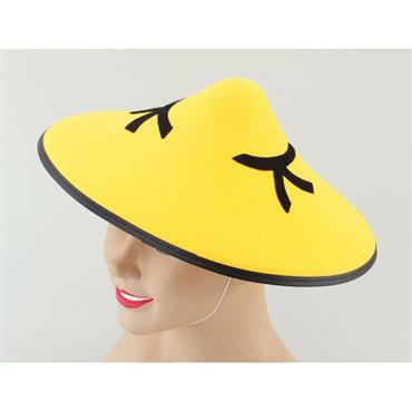 Chinese Coolie Felt Hat