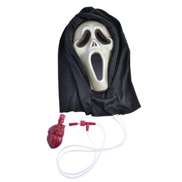 Scream Mask Bleading